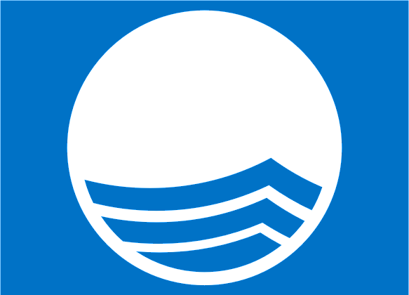 Mapa Y Ubicación Del Logo Azul Mapa Logotipo De: Bandeira Azul